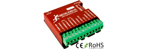 Stepping Drives Geckodrive