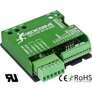 Geckodrieve gm215 step motor motion controller 213 70 for What is a stepper motor controller