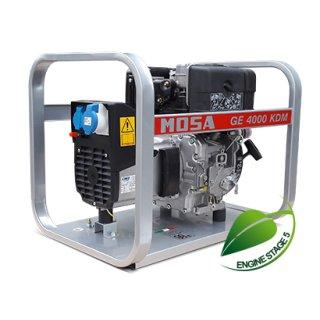 GE 4000 KDM portable single-phase power generator 3.7 kVA (3.3 kW)