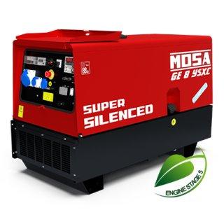 GE 8 YSXC Einphasiger Stromerzeuger 8 kVA (7.2 kW