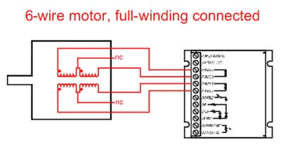 6 wire motor full winding