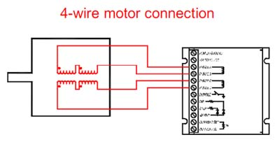 Prime 4 Wire Stepper Motor Connection Diagram Basic Electronics Wiring Wiring 101 Capemaxxcnl