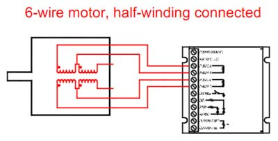 6 wire motor